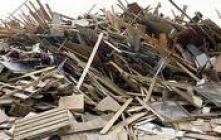 Építési Törmelékből Kinyert Fa Tűzelő Anyag