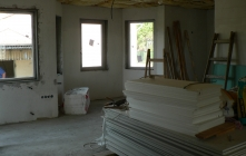 Családi ház szerkezetépítés
